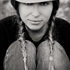 hat and pigtails by Victor Bezrukov