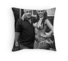 Peter and Samba Dancer Throw Pillow