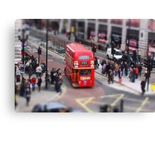 Toy Town London 2 Canvas Print