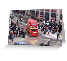 Toy Town London 2 Greeting Card
