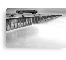 Dusk at Mentone Pier #2 Canvas Print