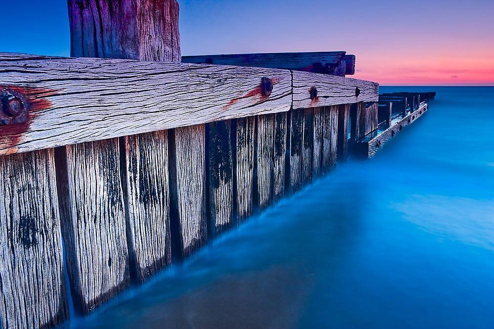 Dusk at Mentone Pier #3 by Jason Green