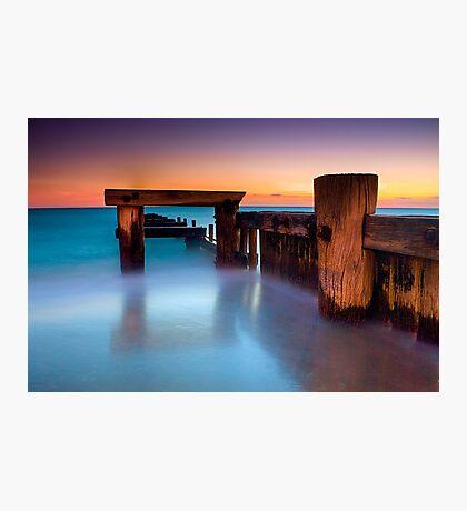Dusk at Mentone Pier #4 Photographic Print