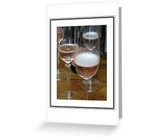 Champagne Wishes Greeting Card
