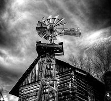 Psycho with a Windmill by Bob Larson