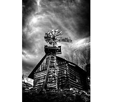 Psycho with a Windmill Photographic Print