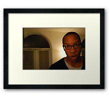 Caught on Tape Framed Print
