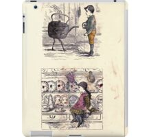 The Little Folks Painting book by George Weatherly and Kate Greenaway 0171 iPad Case/Skin