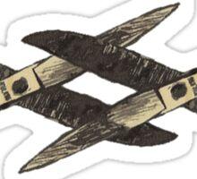 Scissoring  Sticker