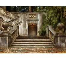 Grand Garden Staircase at Winterthur Photographic Print