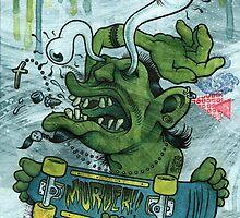 Der Shredder by Damian King