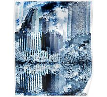 Abstraction city 10 Poster