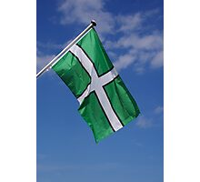 Devon Flag Photographic Print