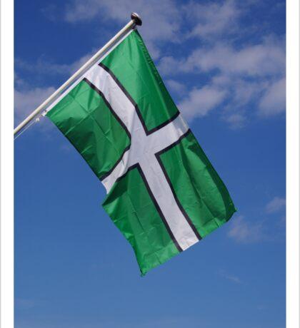 Devon Flag Sticker