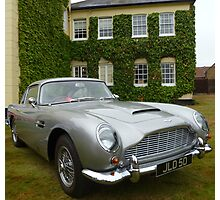 Aston Martin DB6 Photographic Print