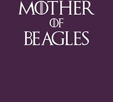 Mother of Beagles T Shirt Womens Fitted T-Shirt