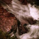 Water Chute (below Adams Falls) by Aaron Campbell