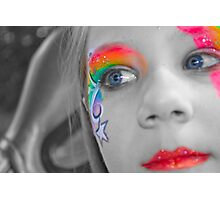 Facepaint Photographic Print