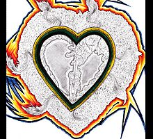 My Firey Heart by Brittani Brooke
