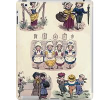 The Little Folks Painting book by George Weatherly and Kate Greenaway 0008 Frontpiece iPad Case/Skin