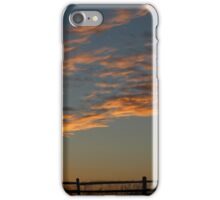scattered clouds iPhone Case/Skin