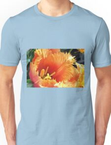 Tulip With A Fringe On Top Unisex T-Shirt