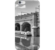 Castlefield Waterways of Manchester & Narrowboats iPhone Case/Skin