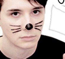 Dan is a cutie Sticker