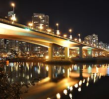 Cambie Bridge to Yaletown by jackdouglas