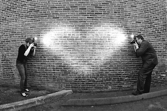 Photographers in Love by Mark Van Scyoc