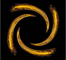 Golden Swirl by Robert Gipson