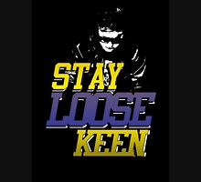 Stay Loose Keen. Mens V-Neck T-Shirt