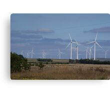 WIND POWER OF THE FUTURE Canvas Print