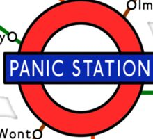 MUSE PANIC STATION - Lyric Underground Map Sticker