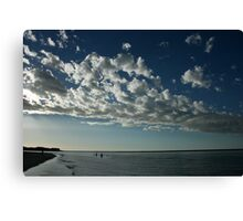 Bathe in the Silver Light - Kalbarri Rivermouth Canvas Print