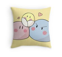 Dango Family - Clannad Throw Pillow
