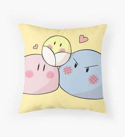Dango Family - Clannad Throw Pillow