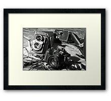 Cameras Framed Print