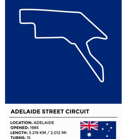 Adelaide Street Circuit Sticker