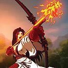 Jaina - Flame Arrow - Fantasy Strike by Sirlin