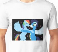 Rainbow Dash and Soarin Unisex T-Shirt
