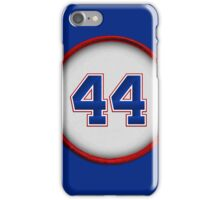 44 - Hammerin Hank (1974) iPhone Case/Skin