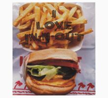 I Love In-n-out Baby Tee
