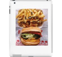 I Love In-n-out iPad Case/Skin