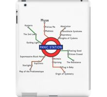 Panic Station Underground Map iPad Case/Skin