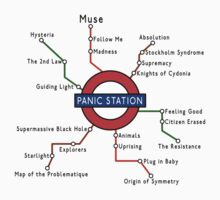 Panic Station Underground Map by Jonnyfez