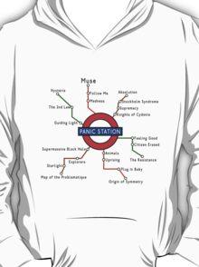 Muse - Panic Station Underground Map T-Shirt