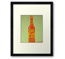 Cholula Framed Print