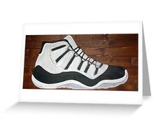 Jordan 11 Greeting Card