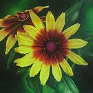 Yellow Rudbeckia by lanadi